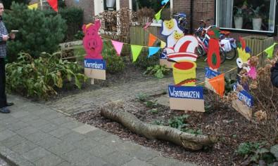 Carnavalsoptocht Warmenhuizen 15-02-2015