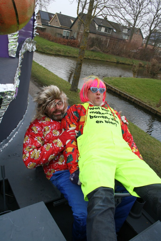 Carnavals optocht Waarland 15-02-2015